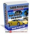 Thumbnail *New* 5000 Plr Articles with Plr + Bonus