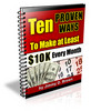 Thumbnail *New!*10 Proven Ways to Make at Least 10K per Month