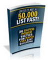 Thumbnail NEW Build Me A 50000 List Fast -- Master Resale Rights*