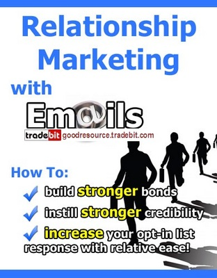 Product picture *New* Relationship Marketing with E-mails with Mrr
