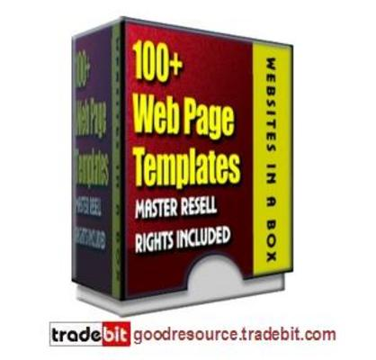 Product picture *New* 100+ Webpages Templates (Mrr)