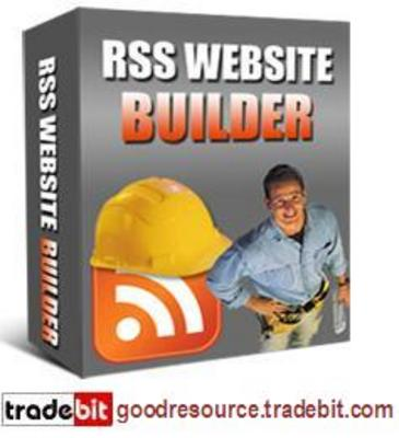 Product picture *New* rss Website Builder (Mrr)