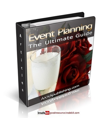 Product picture *New* Event Planning The Ultimate Guide PLR