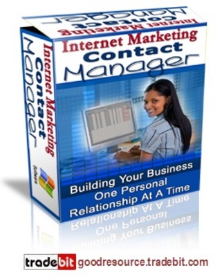 Product picture *New* Internet Marketing Contact Manager with MRR