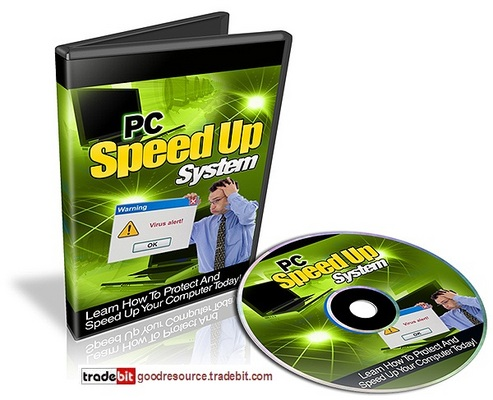 Product picture *New* PC Speed Up System Video Series with Mrr