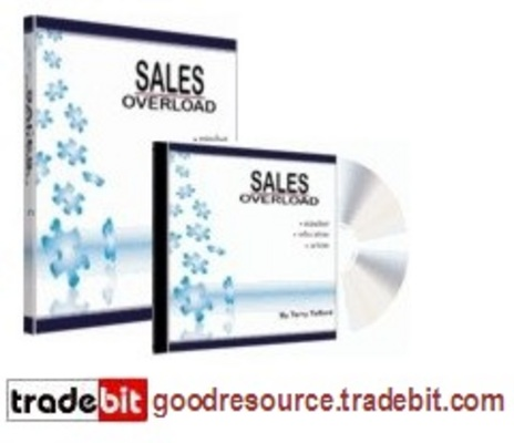 Product picture *New* Sales Overload Home Study Course with Mrr