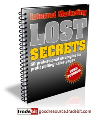 Product picture *New* Collection of Internet Marketing Lost Secrets plr