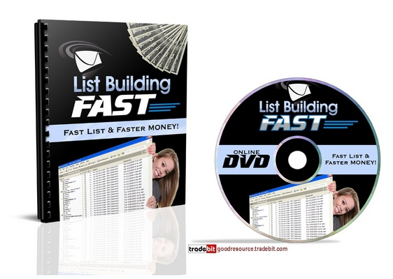Product picture *New* List Building Fast with Mrr