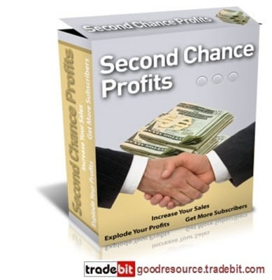 Product picture *New* Second Chance Profits with Mrr